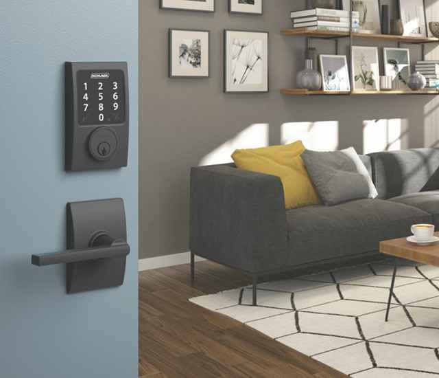 Schlage Connect™ Smart Deadbolt - Zigbee Amazon lock - Alexa