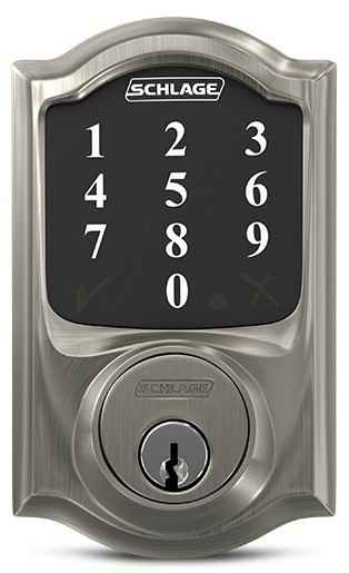 Schlage Connect™ Touchscreen Deadbolt