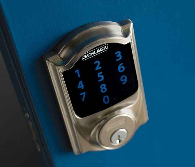 Schlage Connect Smart Deadbolt - Zwave Plus