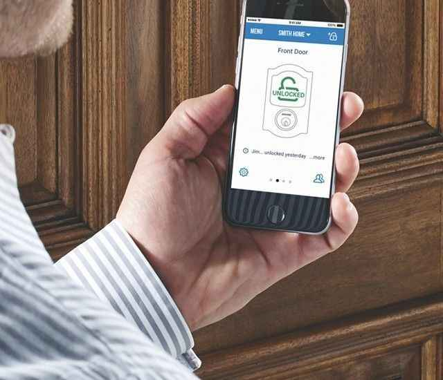 Schlage Sense™ Smart Deadbolt - Bluetooth smart lock