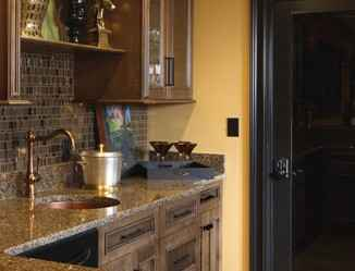 In This Bat By Designer Jd Of Cabinetry Ideas A Dark Light Switch Complements Black Trim And An Aged Bronze Schlage Touchtm Electronic Lock