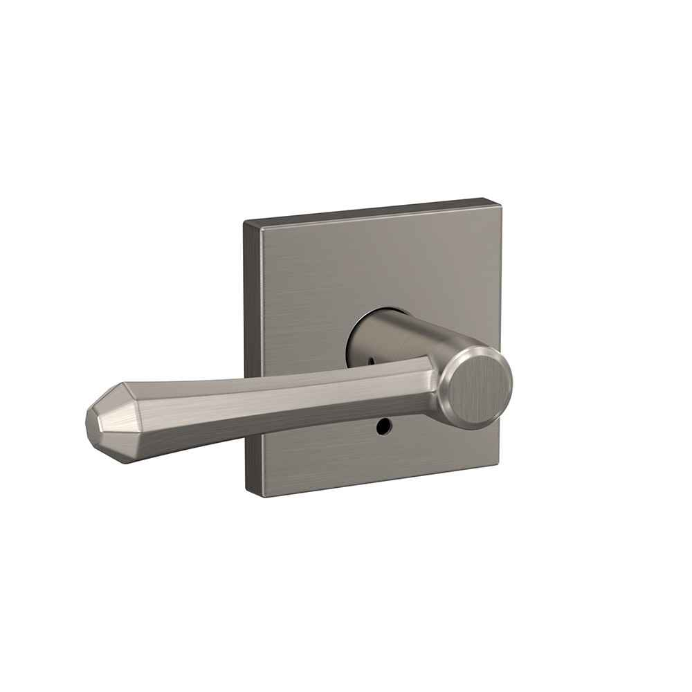 Modern door handle - Dempsey lever - Schlage