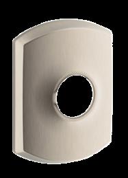 Greenwich trim | Modern door backplates  sc 1 st  Schlage & Modern Door Hardware | Traditional Door Knob Backplates | Schlage
