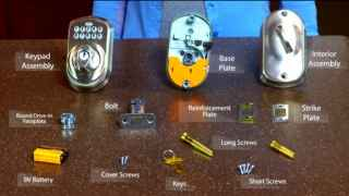 Installing your Keypad Deadbolt (BE365)