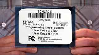 Schlage Connect™ Managing User Codes (BE468/BE469)