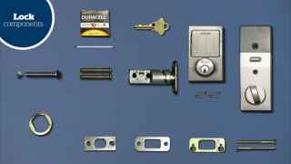 Schlage Sense™ Smart Deadbolt installation (BE479)