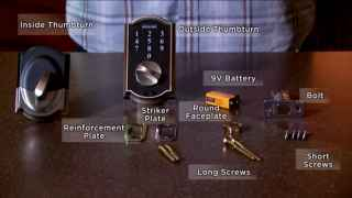 Schlage Touch™ Deadbolt Installation Tutorial (BE375)