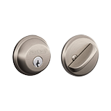 Single cylinder mechanical deadbolt
